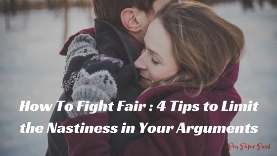 Fight Fair - Guest blog by Lauren Moye. Couple embracing