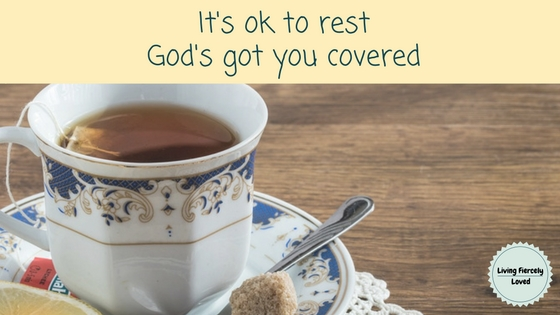 God says rest - its ok blog