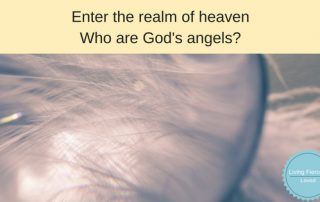 Who are God's Angels-Enter the realm of heaven