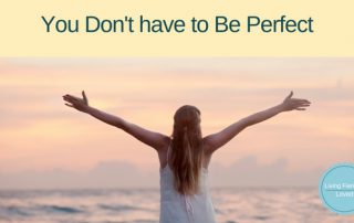 Dont be perfect Be redeemed