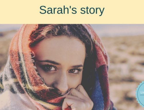 Living by faith and grace – Sarah's Story