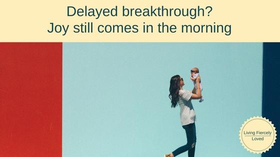 Waiting for BreakthroughElizabeth's story