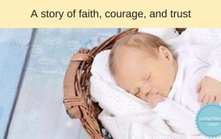 jochebed's story - a story of faith, courage and trust