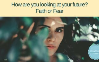 Overcome fear by faith