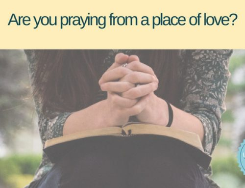 What motivates your prayer life?