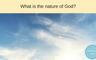 What is the nature of God