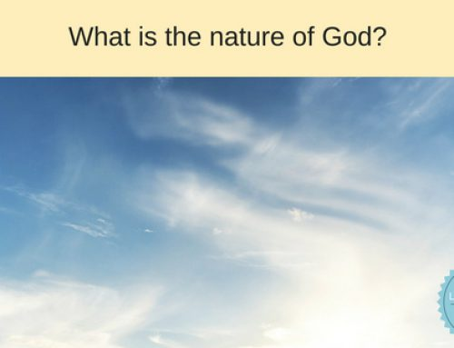 What is the nature of God vs his attributes?