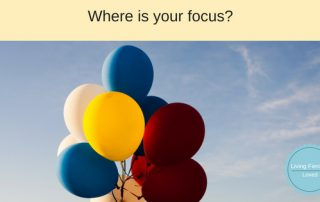 You get what you focus on blog