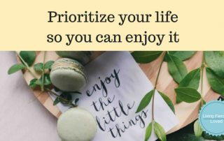 Tips to Prioritizing