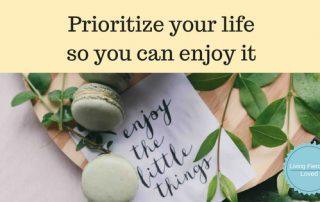Tips to Prioritizing