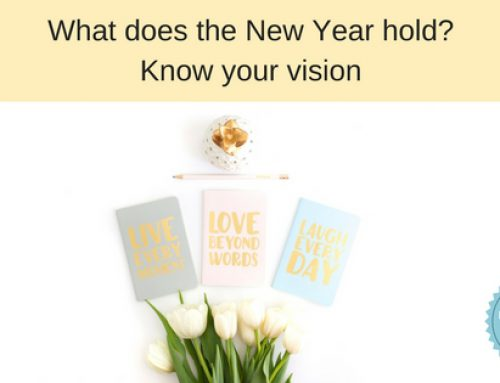 Write down your vision for the year