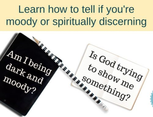 Discerning spiritual discernment vs mood swings